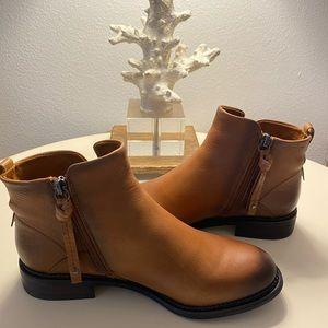Franco Sarto Hyla bootie, Brown bootie, boots